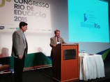 Crivella ministra palestra no 10º Congresso Rio de Educação 2015