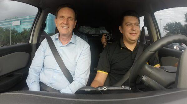 Taxi Rio Inauguração