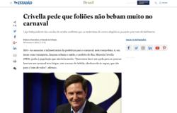 A verdadeira fala do prefeito Marcelo Crivella sobre bebida e carnaval