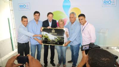 Crivella na ampliação do parque Madureira