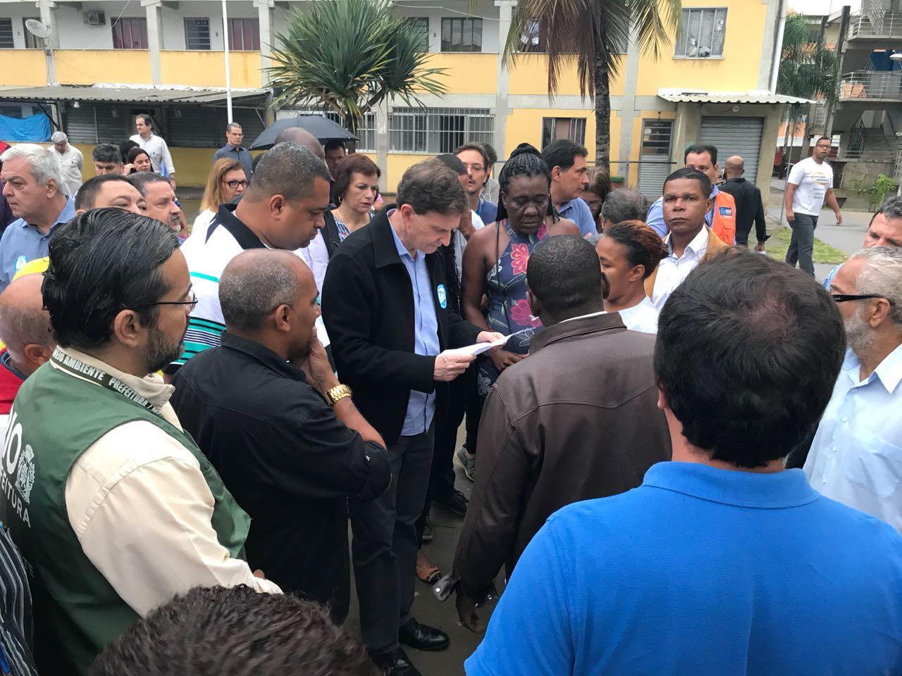 Crivella anuncia 600 moradias na zona norte