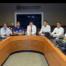 Reunião no COR sobre chuvas no Rio