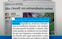Mac Dowell: um extraordinário carioca