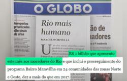 Rio mais humano